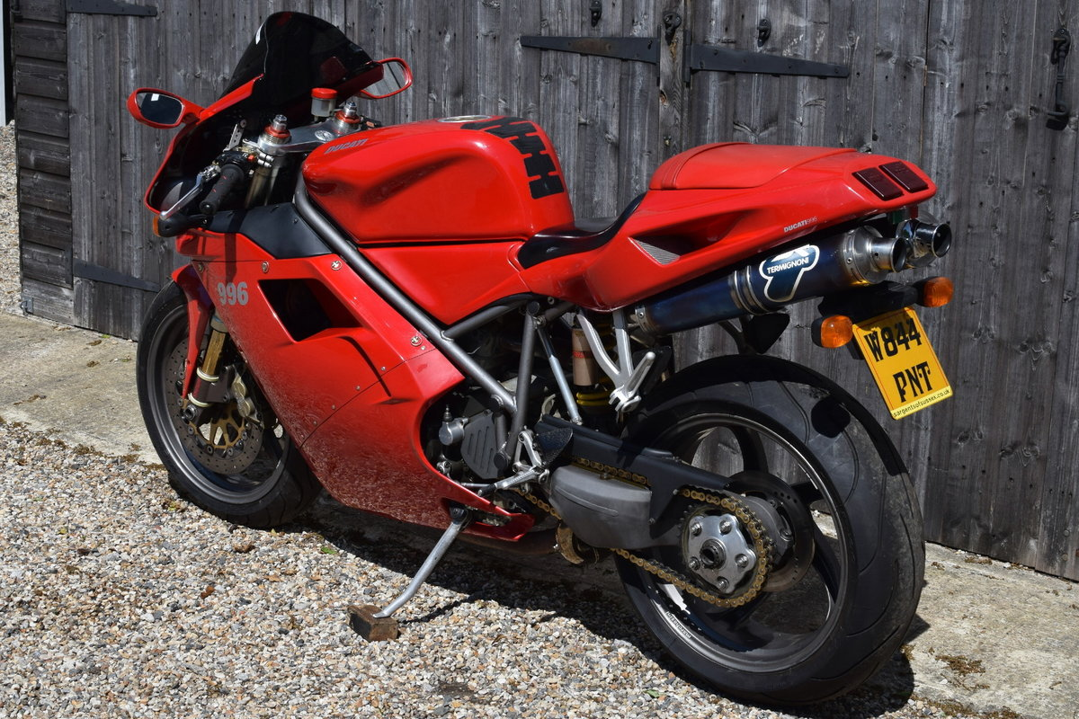 Ducati 996 BiPosto (20000 miles, Just had belts) 2000 W Reg SOLD (picture 6 of 6)