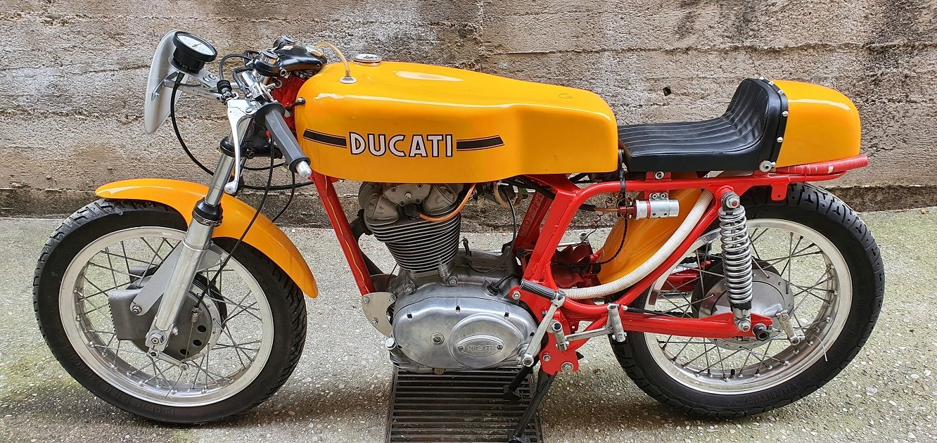 1969 DUCATI 450 DESMO RACING For Sale (picture 1 of 6)