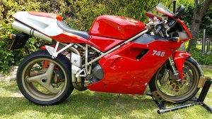 Ducati 748, 2274 miles, 1 owner from new, UK bike.