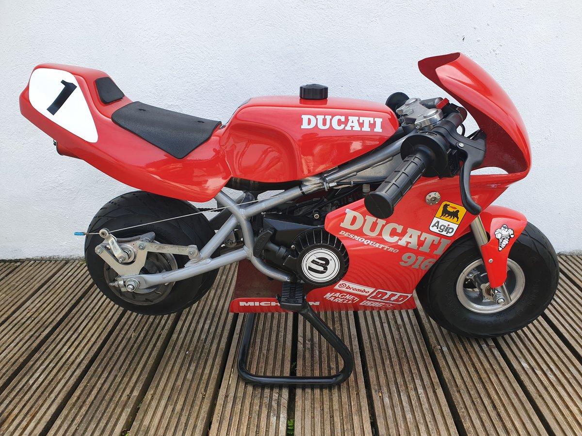 2000 BLATA MINI MOTO, DUCATI 916 COLOURS. For Sale (picture 1 of 6)
