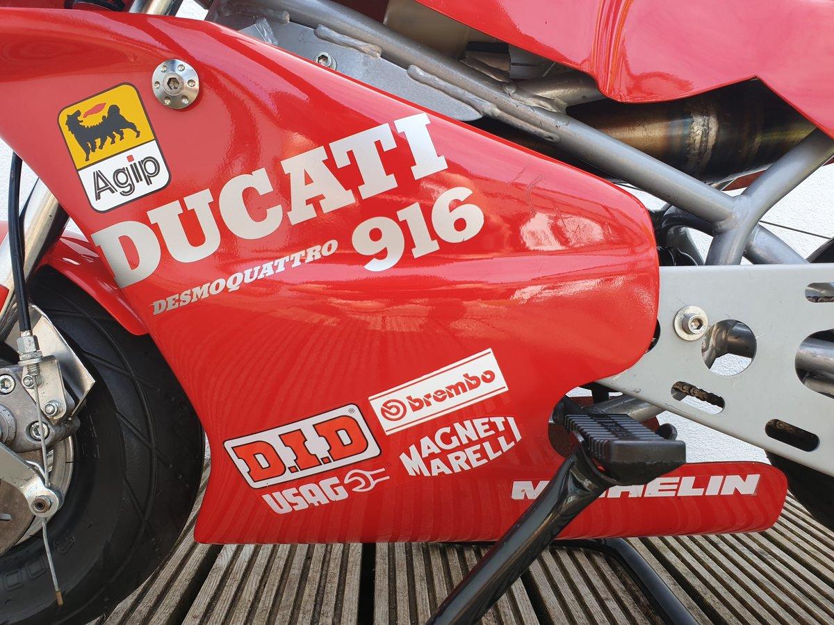 2000 BLATA MINI MOTO, DUCATI 916 COLOURS. For Sale (picture 3 of 6)