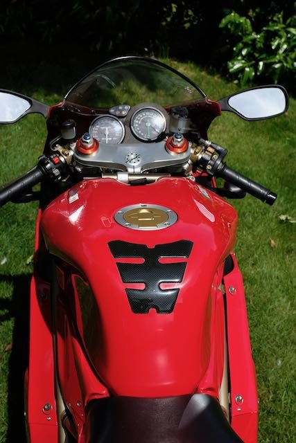 1998 Ducati 916 Superb original (low miles, late model) For Sale (picture 4 of 5)