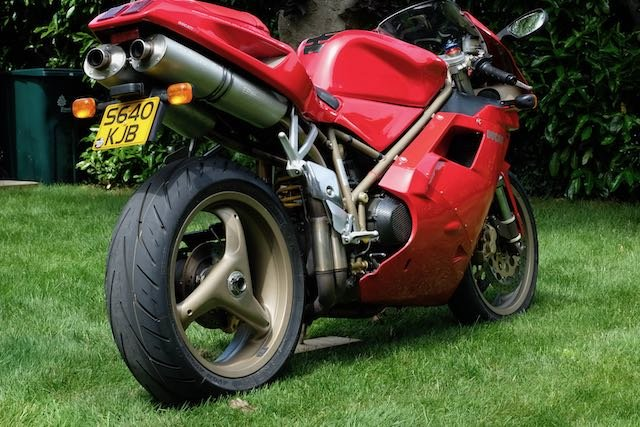 1998 Ducati 916 Superb original (low miles, late model) For Sale (picture 5 of 5)