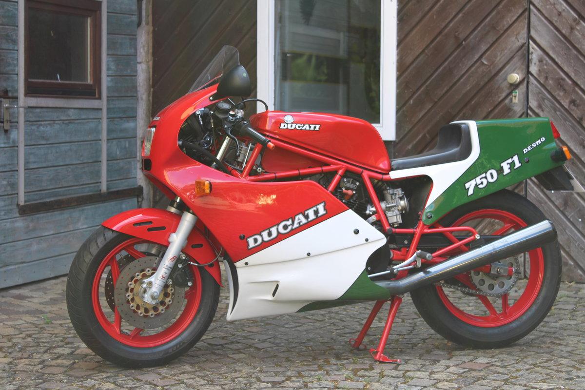 1987 Fantasti F1  DUCATI for sale For Sale (picture 1 of 6)