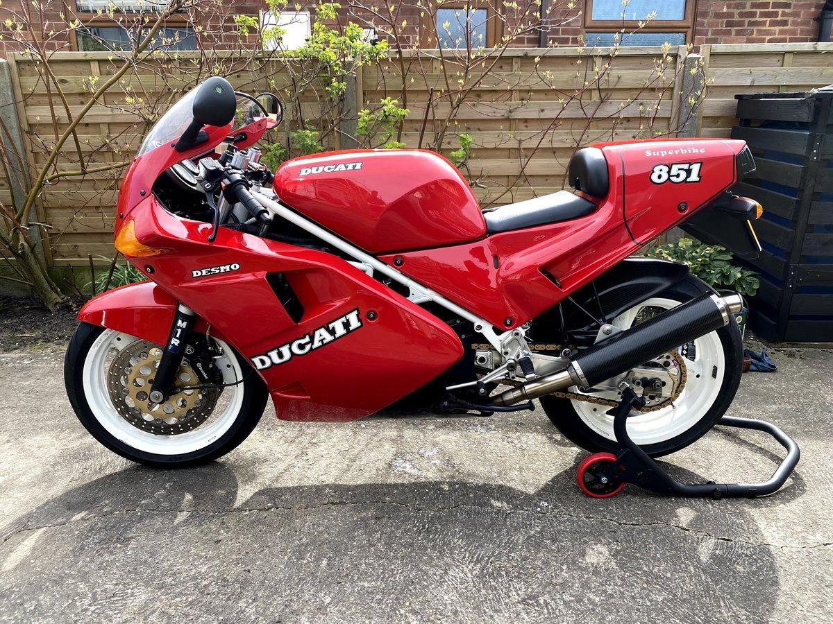 1989 Ducati 851 Strada (Monoposto) For Sale (picture 1 of 2)
