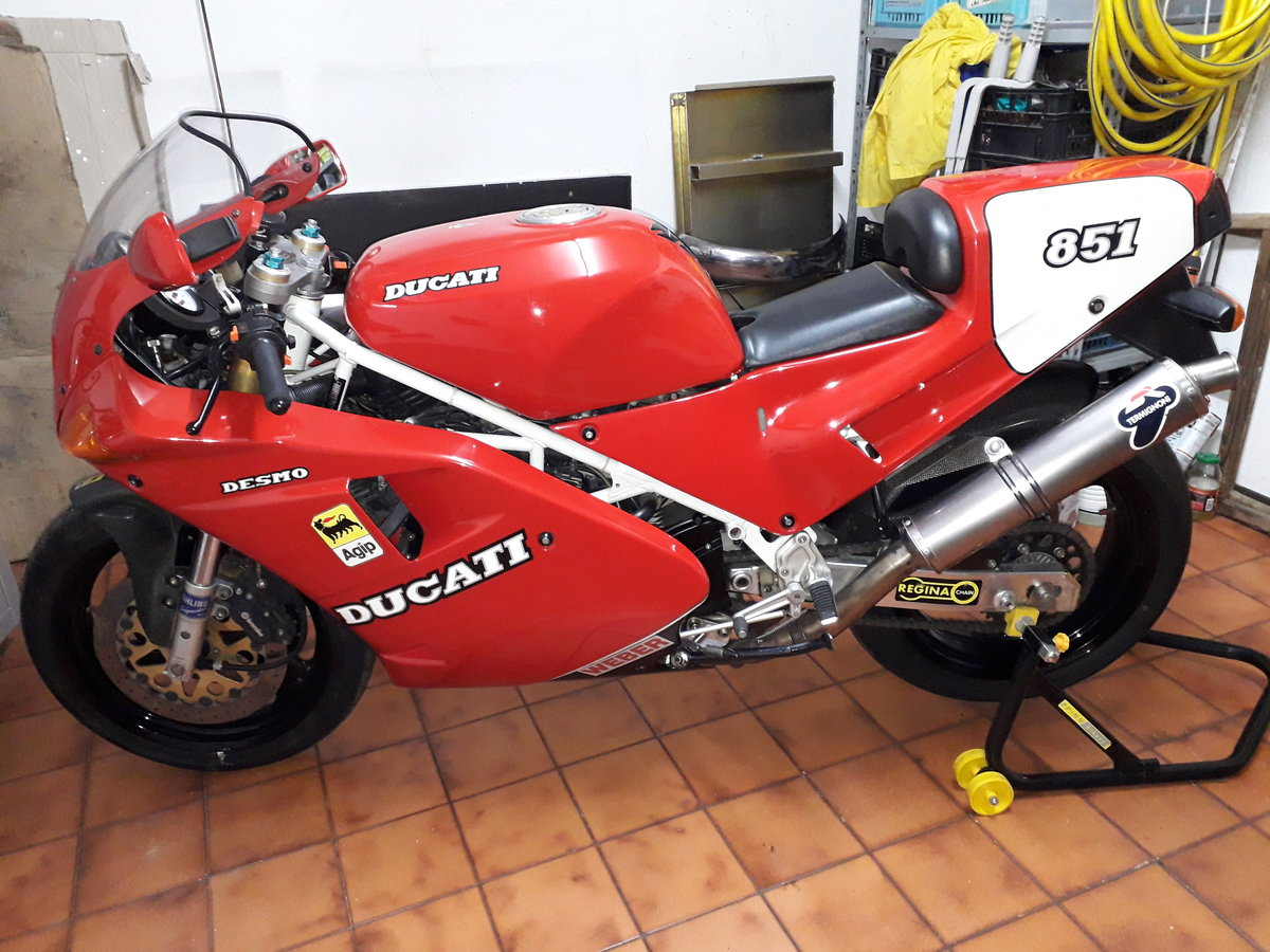 1991 ducati 851 sp3 For Sale (picture 1 of 6)
