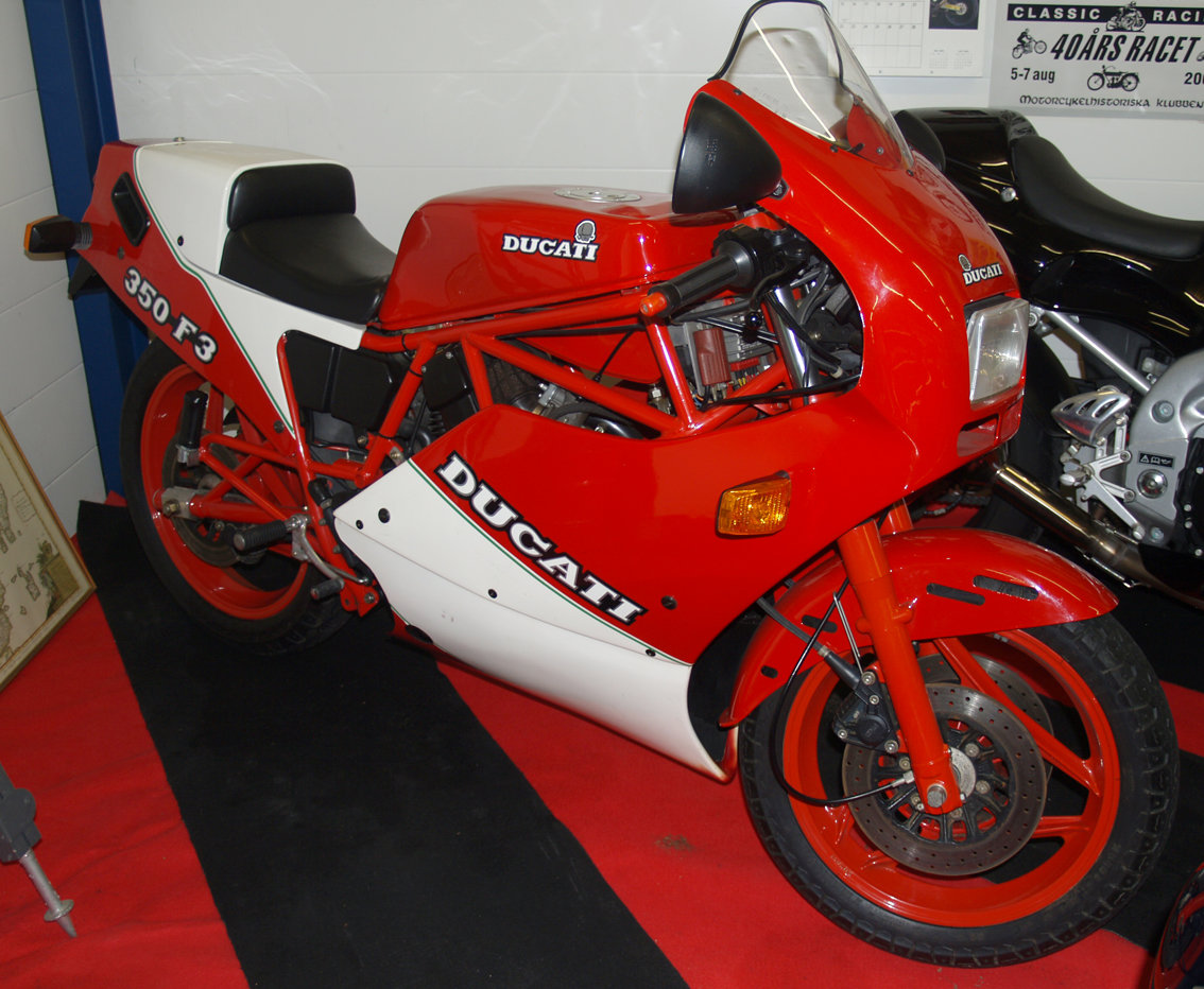 1989 DUCATI 350 F3 SOLD (picture 1 of 4)