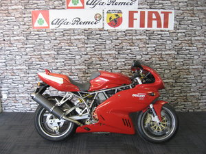 2007 07-reg Ducati 900 Supersport finished in red/white