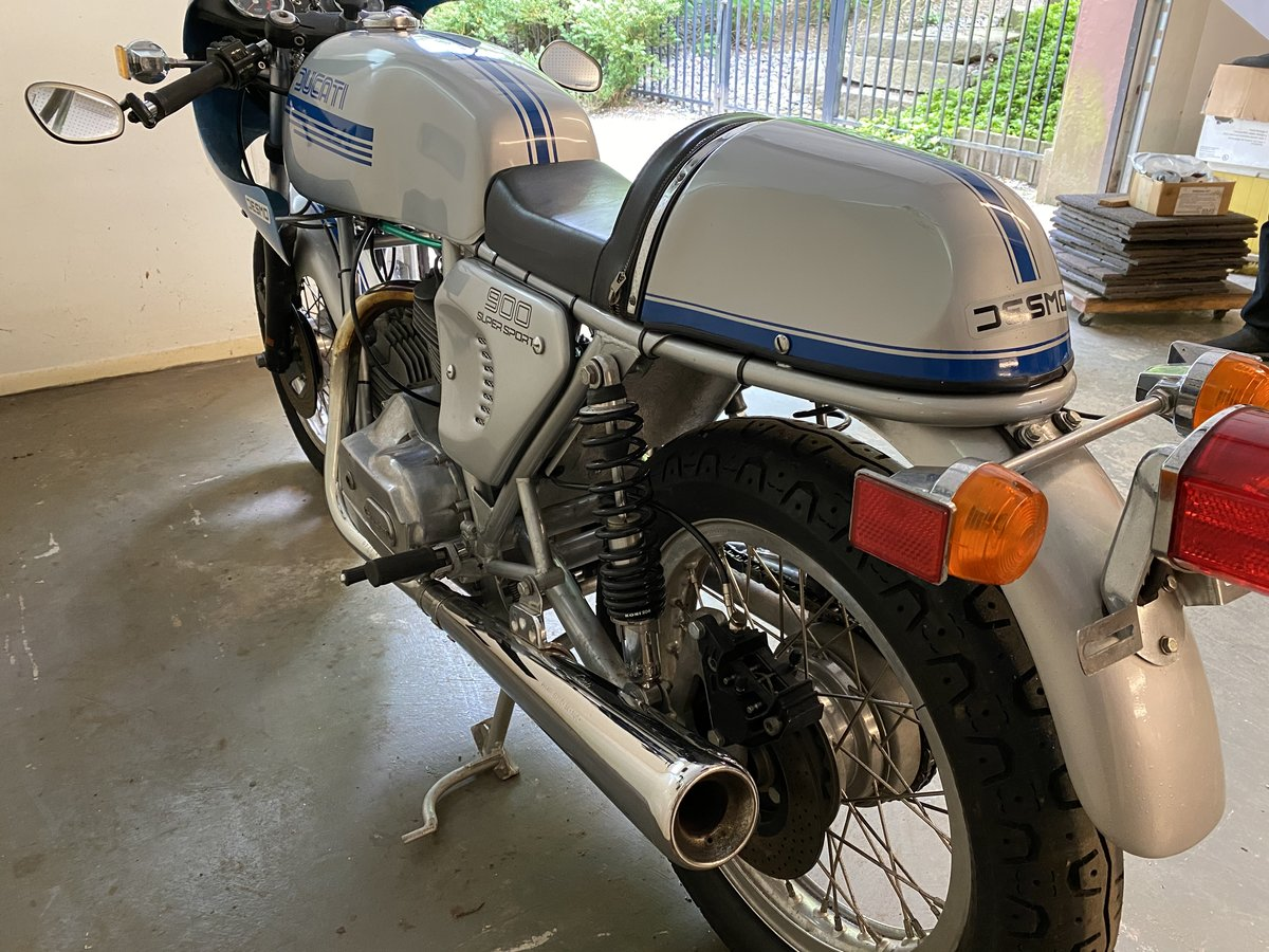 1978 Ducati 900ss only 1,900 miles just refreshed For Sale (picture 3 of 6)