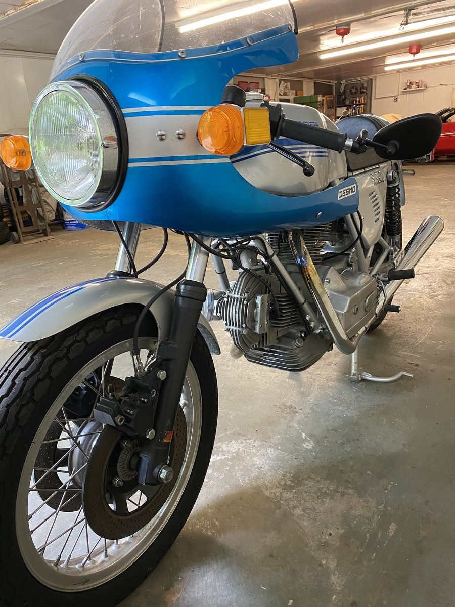 1978 Ducati 900ss only 1,900 miles just refreshed For Sale (picture 5 of 6)