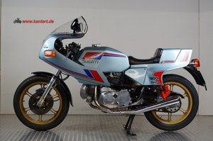 Ducati Pantah 500 with 750 cc