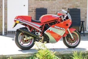 1988 1989 Ducati 750 Sport