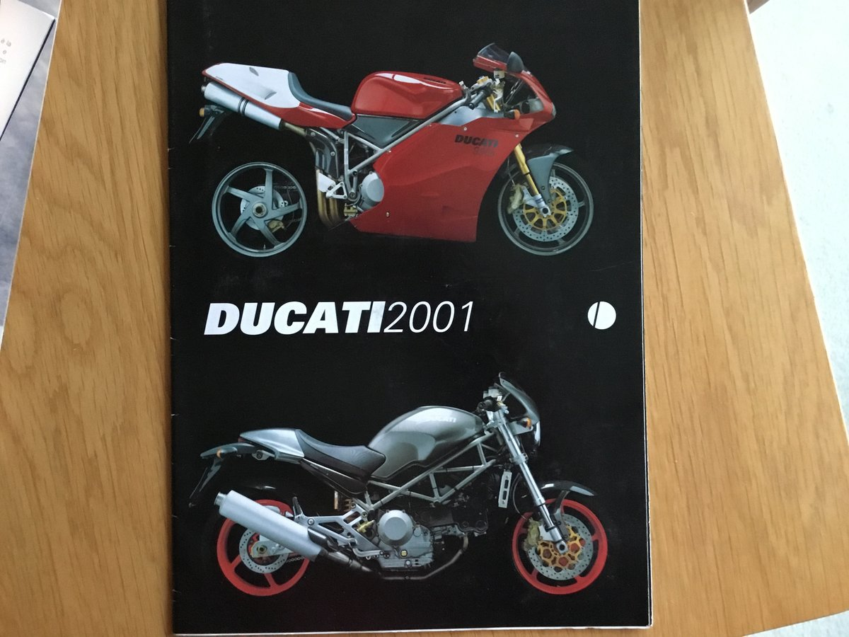 2001 Ducati brochure all models SOLD (picture 2 of 2)