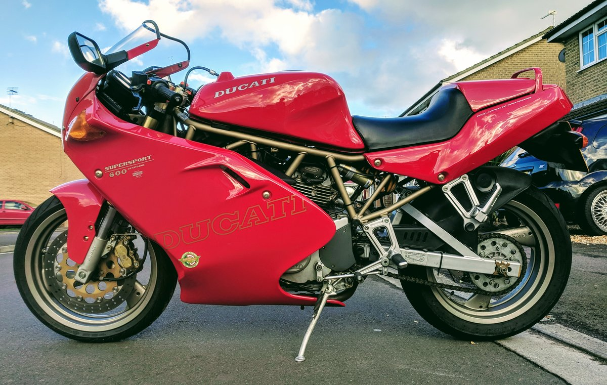 1998 Ducati 600 Supersport For Sale (picture 1 of 6)