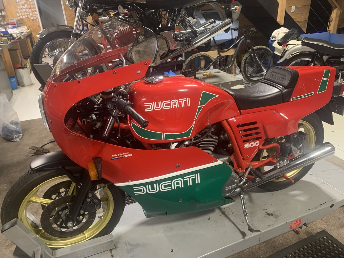 1984 Ducati Mike Hailwood Replica For Sale (picture 1 of 6)