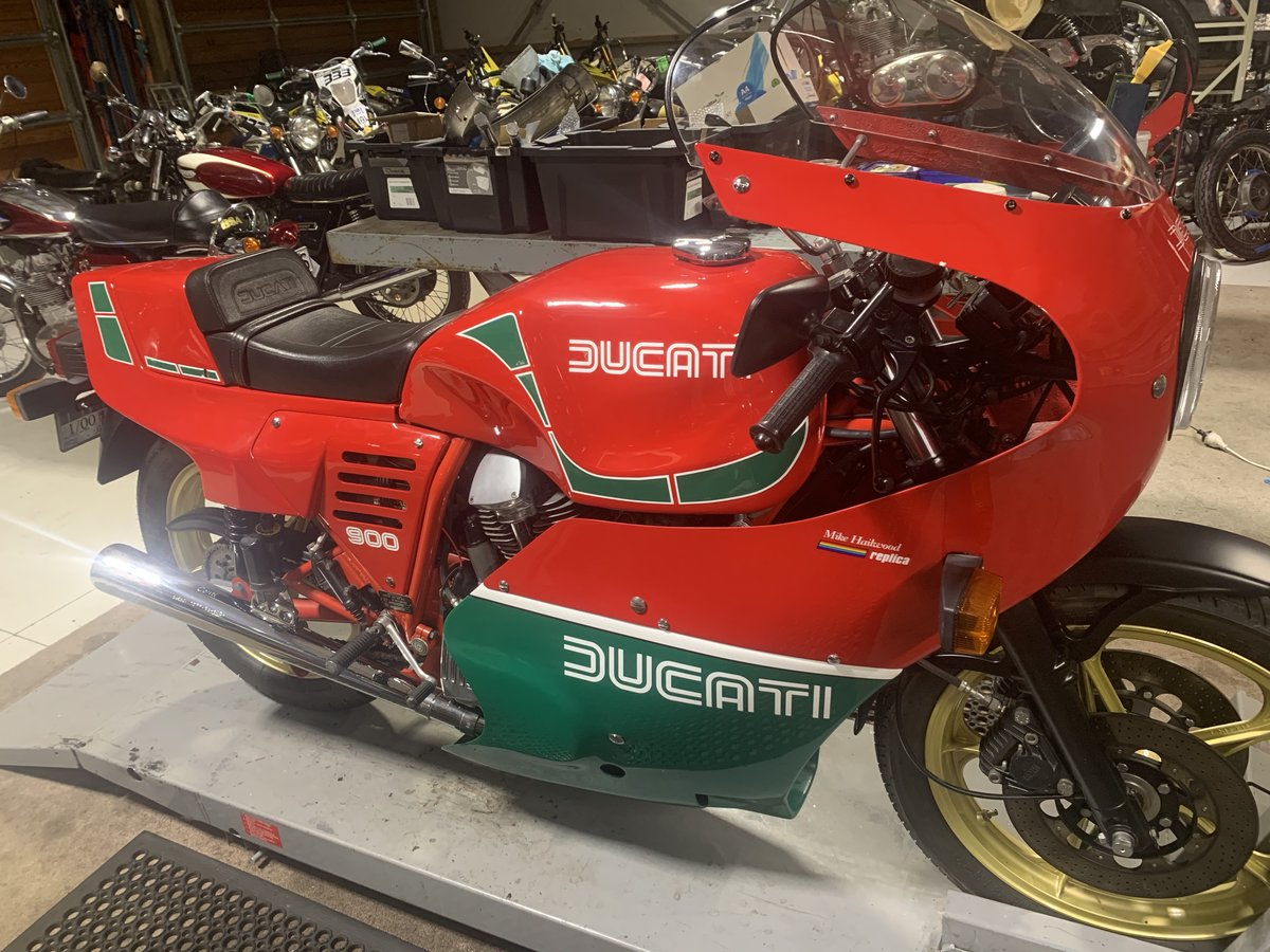 1984 Ducati Mike Hailwood Replica For Sale (picture 2 of 6)