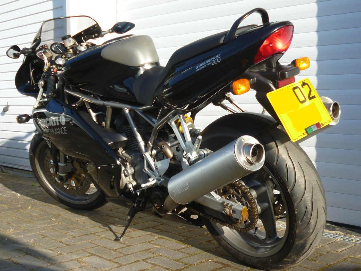 2002 DUCATI 900S FF SUPER SPORT - RARE MODEL IN VGC For Sale (picture 3 of 6)
