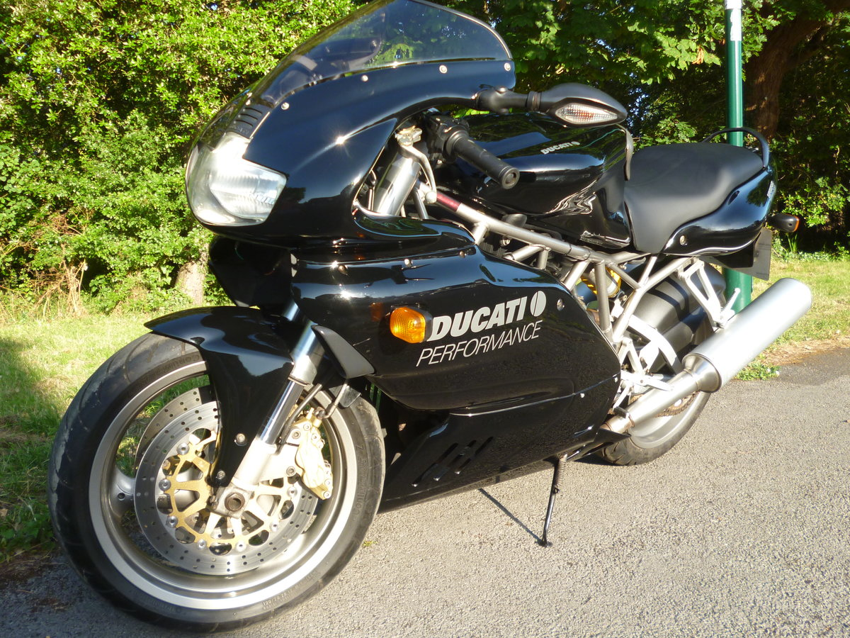 2002 DUCATI 900S FF SUPER SPORT - RARE MODEL IN VGC For Sale (picture 5 of 6)