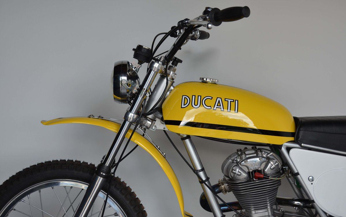 1971 Ducati 350 R/T top condition and super rare For Sale (picture 9 of 10)