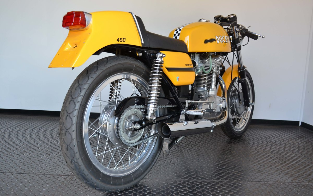 1973 Ducati 450 Desmo fantasic or nearly perfec For Sale (picture 10 of 10)