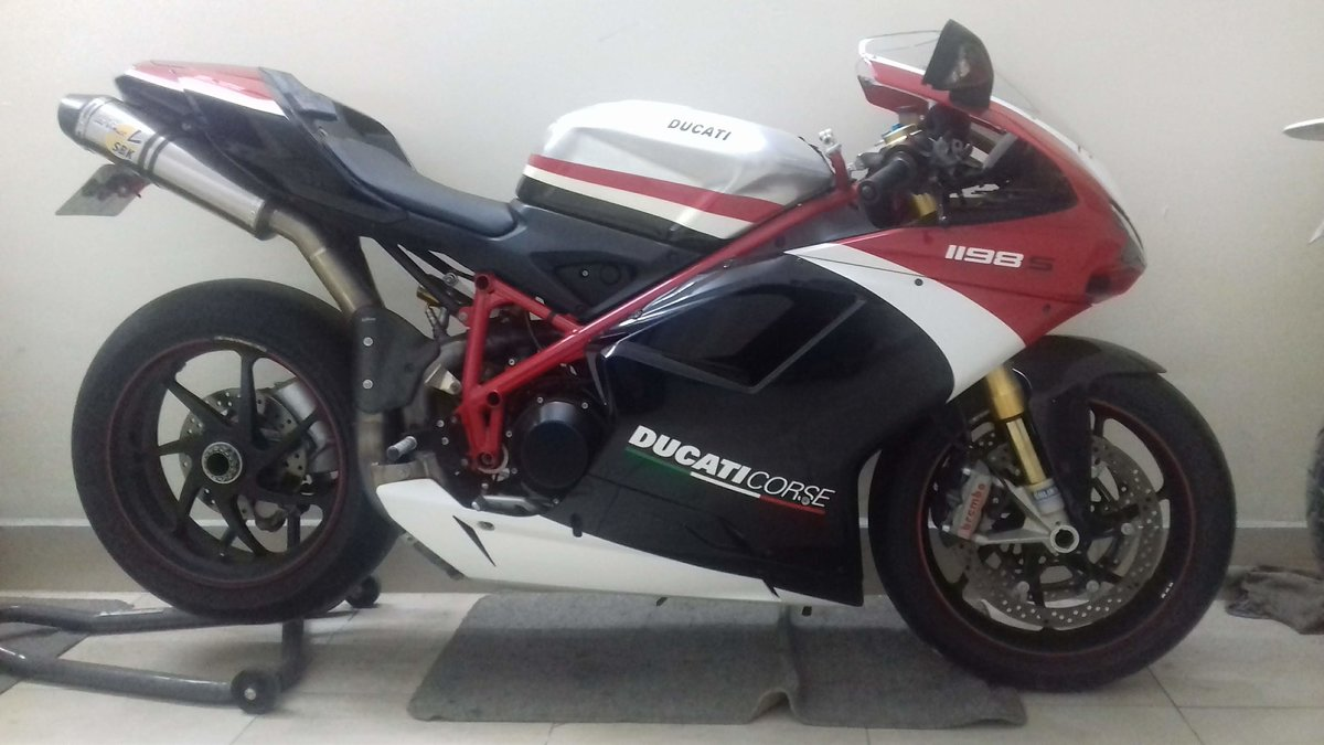 2010 1198 S CORSA Collector bike For Sale (picture 1 of 6)