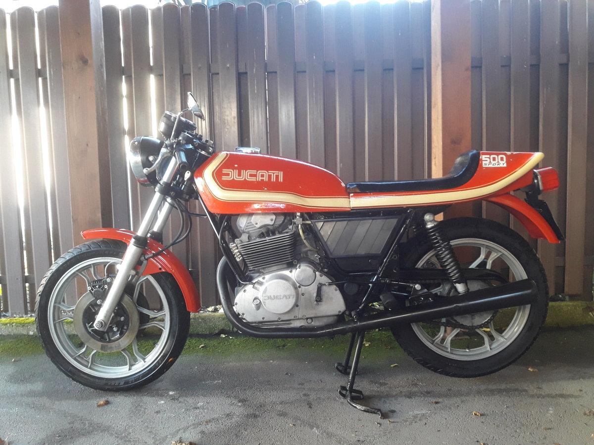 1976 DUCATI DESMO DM 500 B SPORT For Sale (picture 1 of 6)