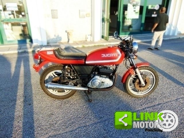 1977 DUCATI 500 SPORT DESMO Km 210000 ISCRITTA ASI, CONSERV For Sale (picture 3 of 6)