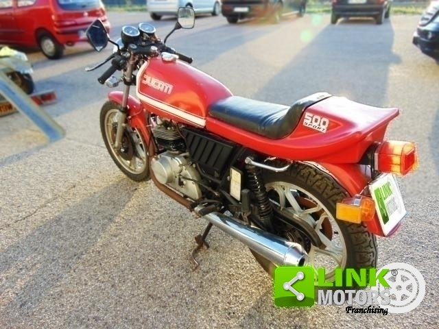 1977 DUCATI 500 SPORT DESMO Km 210000 ISCRITTA ASI, CONSERV For Sale (picture 4 of 6)