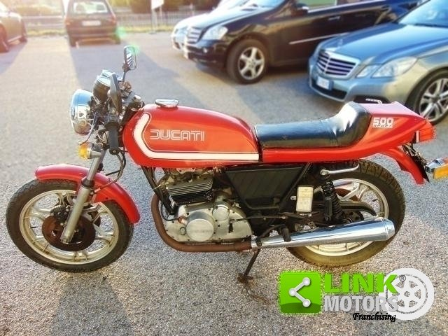 1977 DUCATI 500 SPORT DESMO Km 210000 ISCRITTA ASI, CONSERV For Sale (picture 5 of 6)
