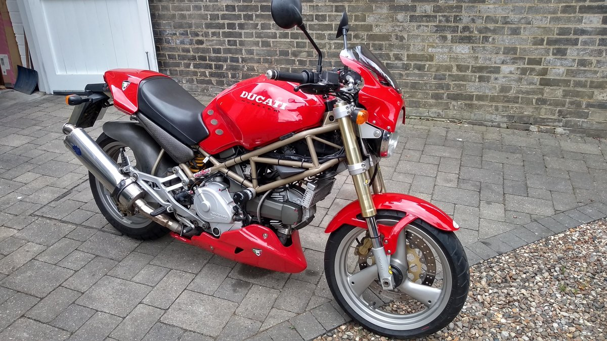 1997 Ducati Monster M750 Low  mileage, loads of extras For Sale (picture 6 of 6)