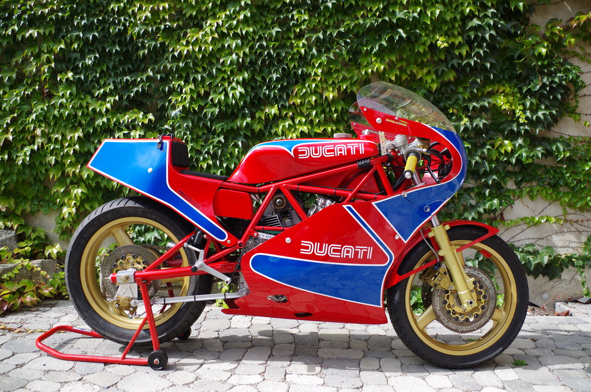 1982 Ducati TT1 TT2 Racer mint condition For Sale (picture 1 of 6)