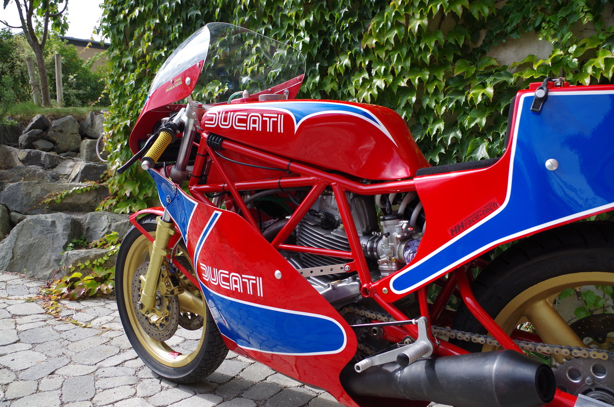 1982 Ducati TT1 TT2 Racer mint condition For Sale (picture 6 of 6)