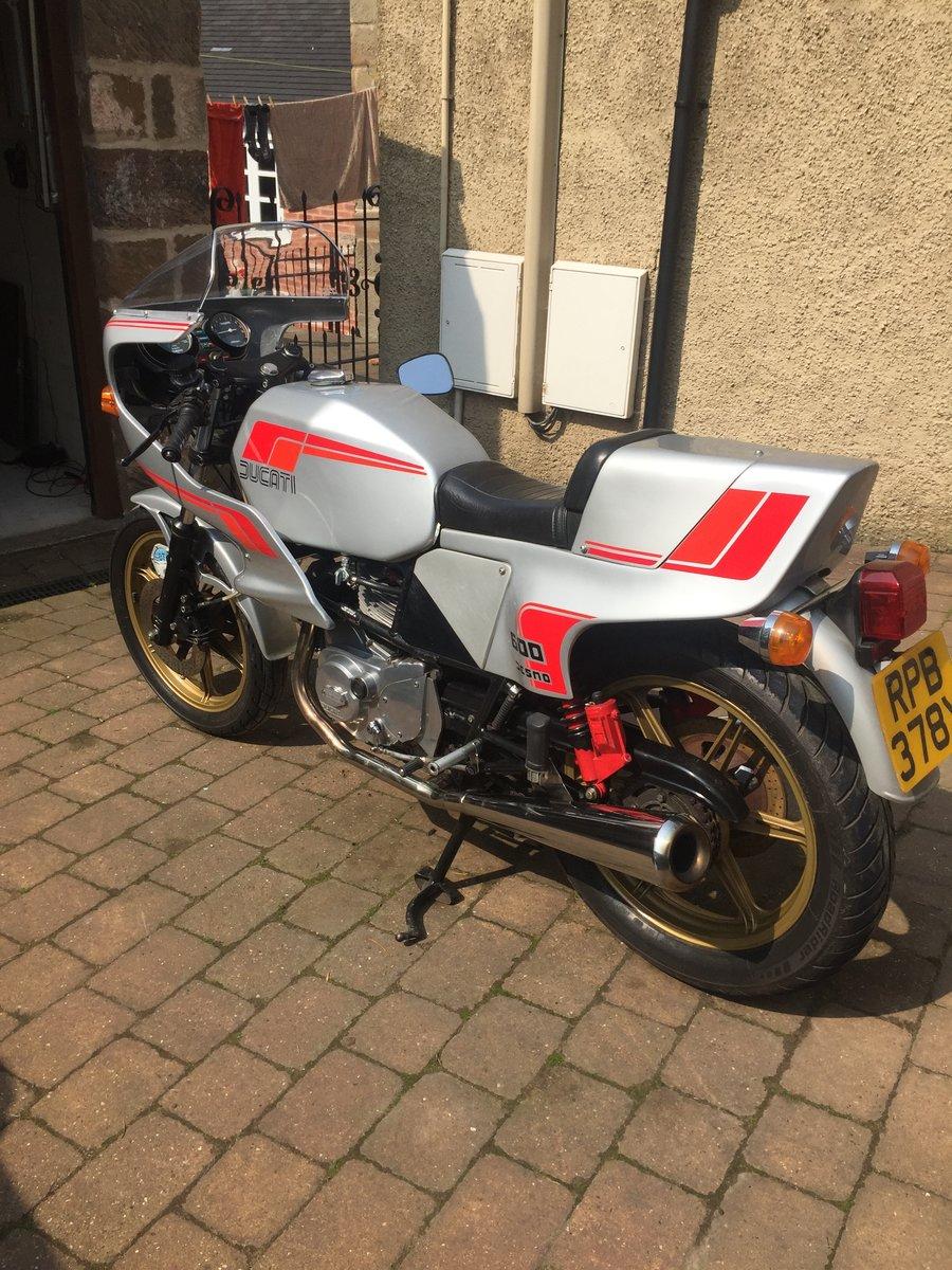 1981 Ducati Pantah 600SL Desmo SOLD (picture 2 of 6)