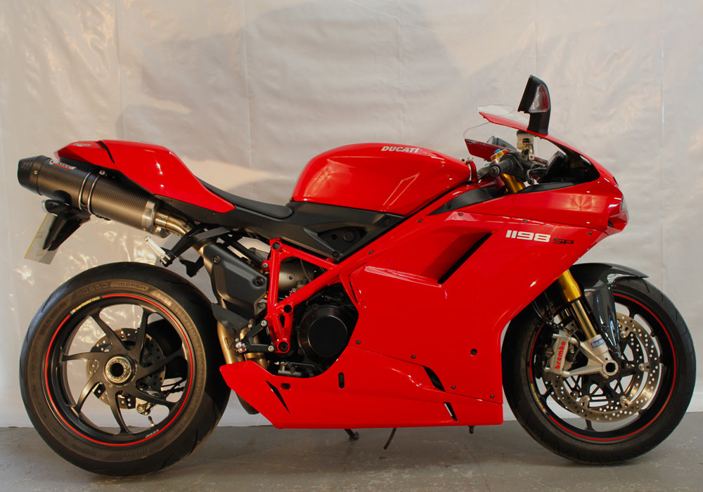 2011 Spotless low mileage Ducati 1198 SP For Sale (picture 2 of 6)