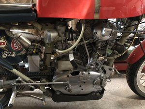 1968 Ducati single 350 narrowcase race bike