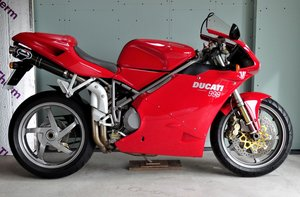 2002 Ducati 998 Biposto 2100 miles only