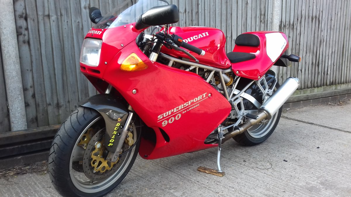 1995 DUCATI 900ss (U.S.Superlight) Rare Ltd.SP Edition  For Sale (picture 1 of 6)