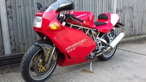 Picture of 1995 DUCATI 900ss (U.S.Superlight) Rare Ltd.SP Edition