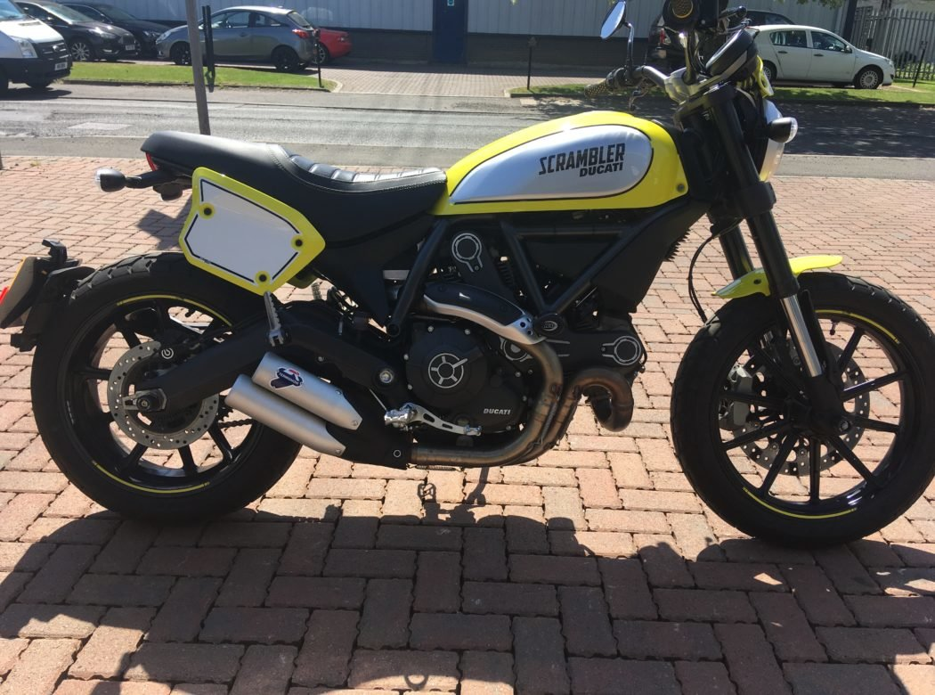 2017 Ducati Scrambler Good as new For Sale (picture 1 of 6)