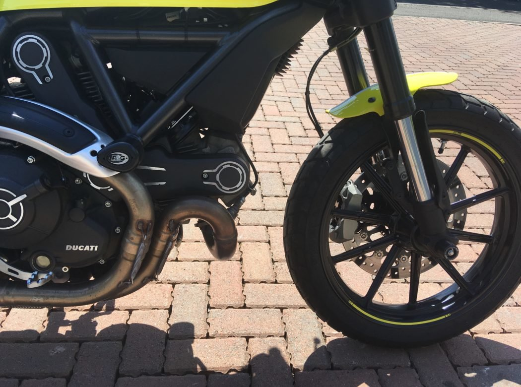2017 Ducati Scrambler Good as new For Sale (picture 3 of 6)