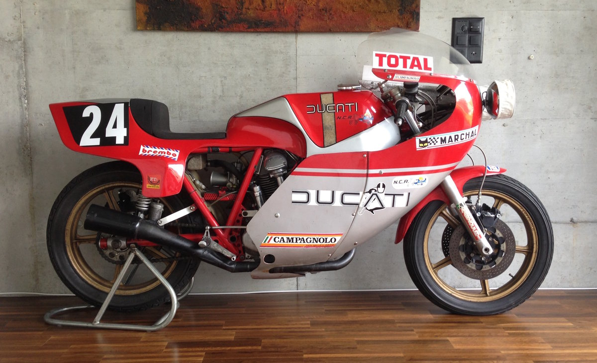 1977 Original Ducati 900 NCR Endurance racer For Sale (picture 1 of 6)