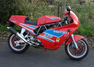 Ducati  750  Sport  -- Rare Model -- Made in 1988.