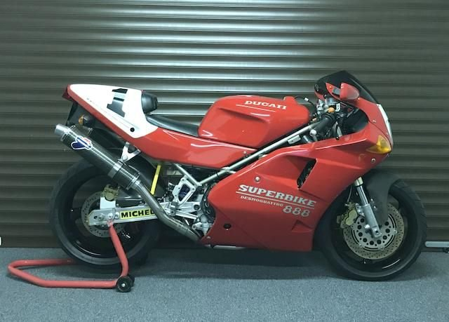 1993 DUCATI 888 SPO SUPERBIKE (LOT 348) SOLD by Auction (picture 1 of 1)