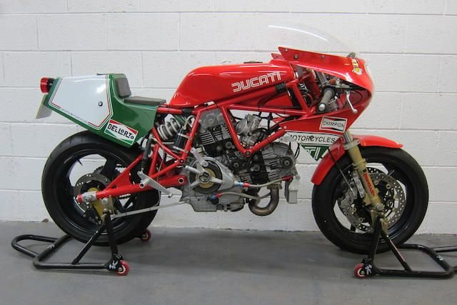 1992/2012 'DUCATI' SPORTS MOTORCYCLE 900CC TT944 (SEE TEXT)  SOLD by Auction (picture 1 of 1)