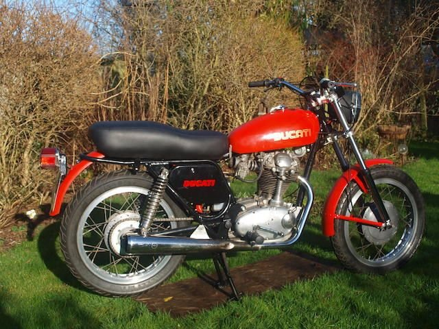 1974 DUCATI 350CC SCR STREET SCRAMBLER (LOT 454) SOLD by Auction (picture 1 of 1)