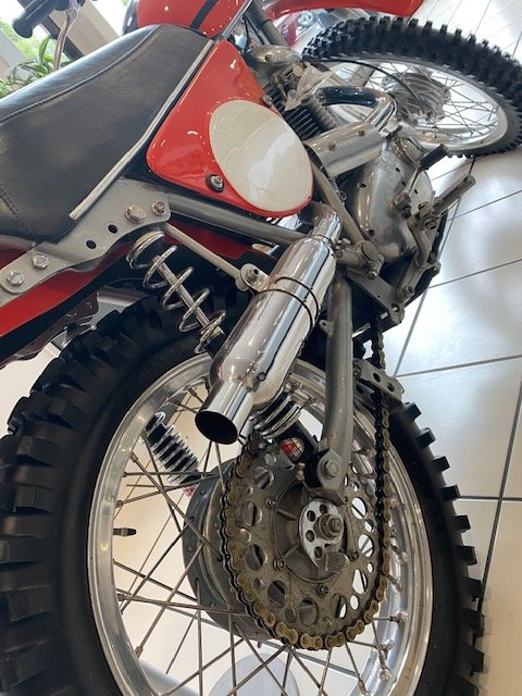 1971 Ducati DM450 Scrambler - Exceptional Condition. For Sale (picture 6 of 8)