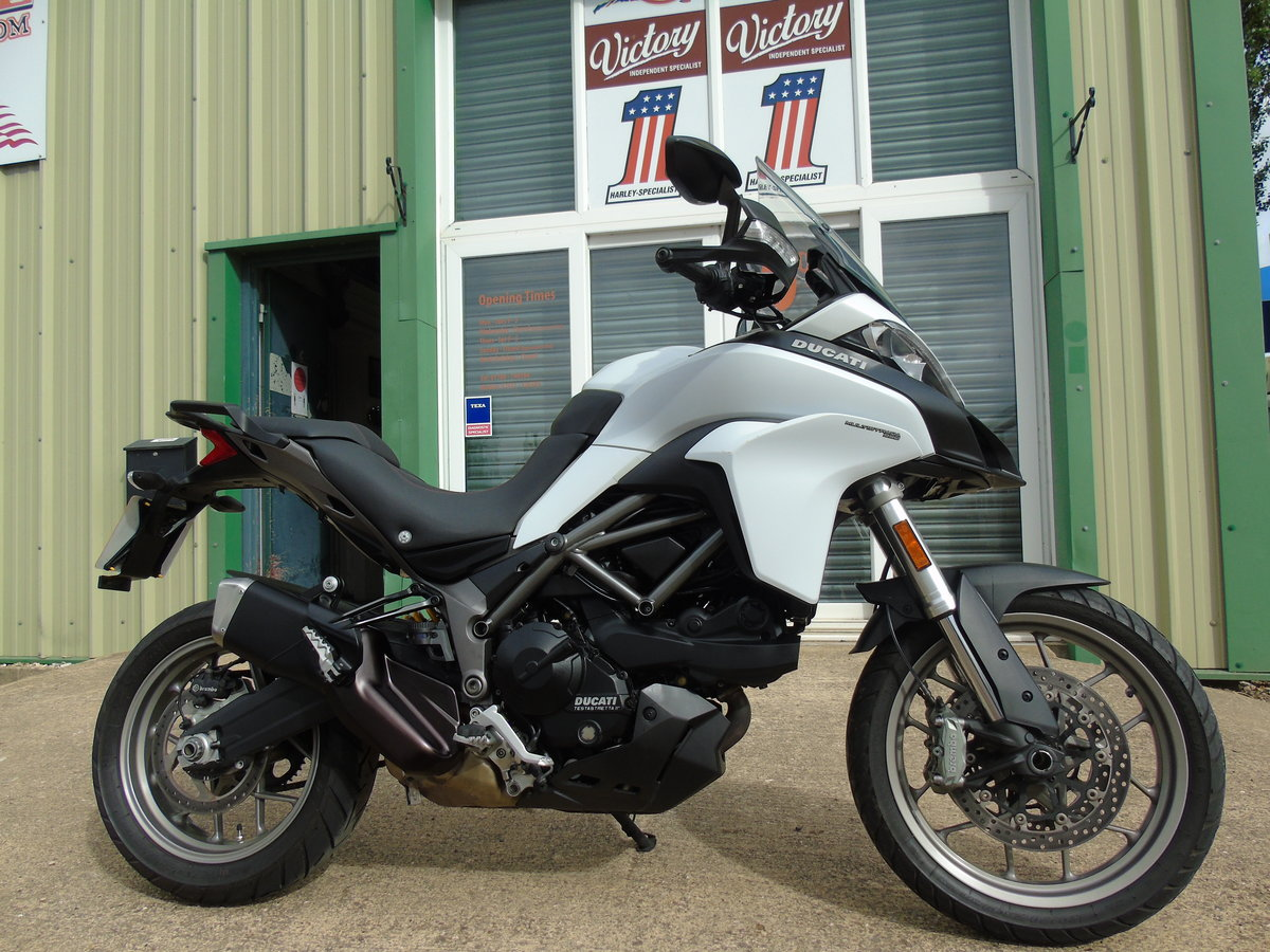 Ducati Multistrada 950cc 2017, Service History, Low Miles For Sale (picture 1 of 6)