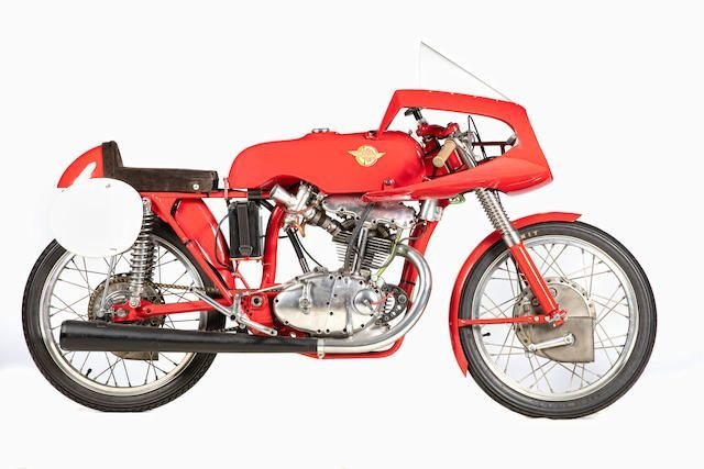 1956 DUCATI 125CC BIALBERO GRAND PRIX RACING MOTORCYCLE SOLD by Auction (picture 1 of 1)