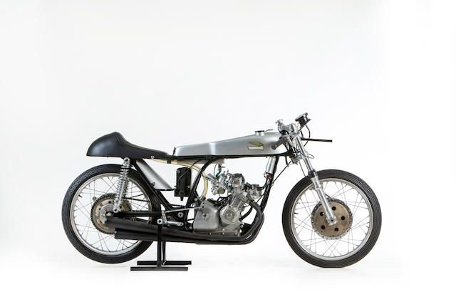 1965 DUCATI 125CC FOUR-CYLINDER GRAND PRIX RACING MOTORCYCLE SOLD by Auction (picture 1 of 1)