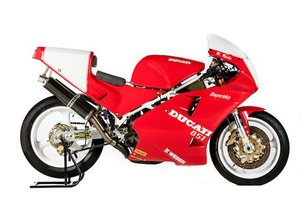 C.1990 DUCATI 888CC '851 SUPERBIKE' RACING MOTORCYCLE